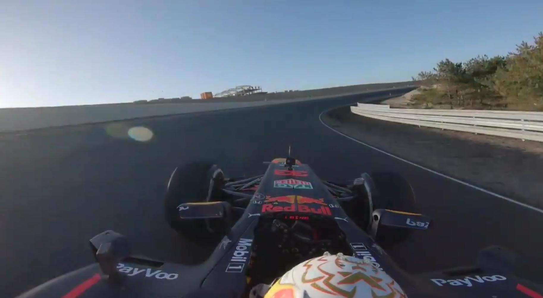 Onboard Footage: Max Verstappen Racing At Circuit Zandvoort Today