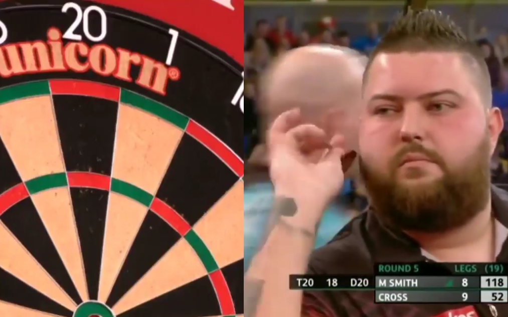 Michael Smith Hits Never Before Seen 118 Checkout At UK Open Darts
