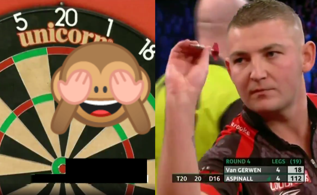 VIDEO: Nathan Aspinall Hits A Never Before Seen 112 Checkout