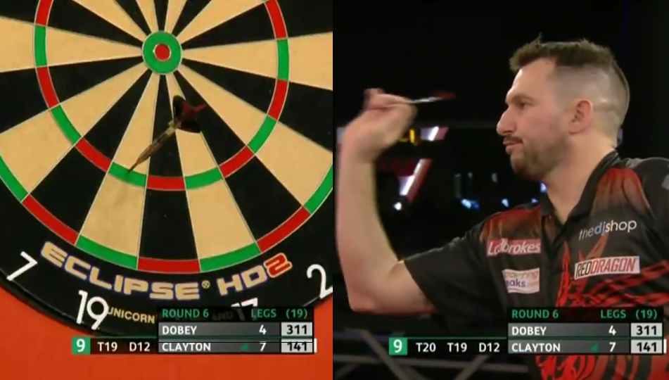 VIDEO: Jonny Clayton Hits 9-Darter At UK Open 2020