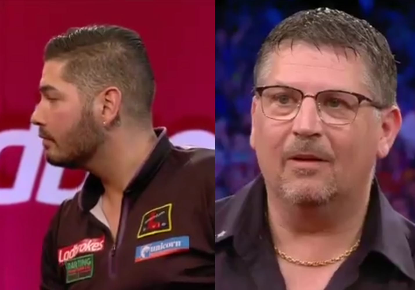 Funny Moment After Jelle Klaasen Beating Gary Anderson At UK Open