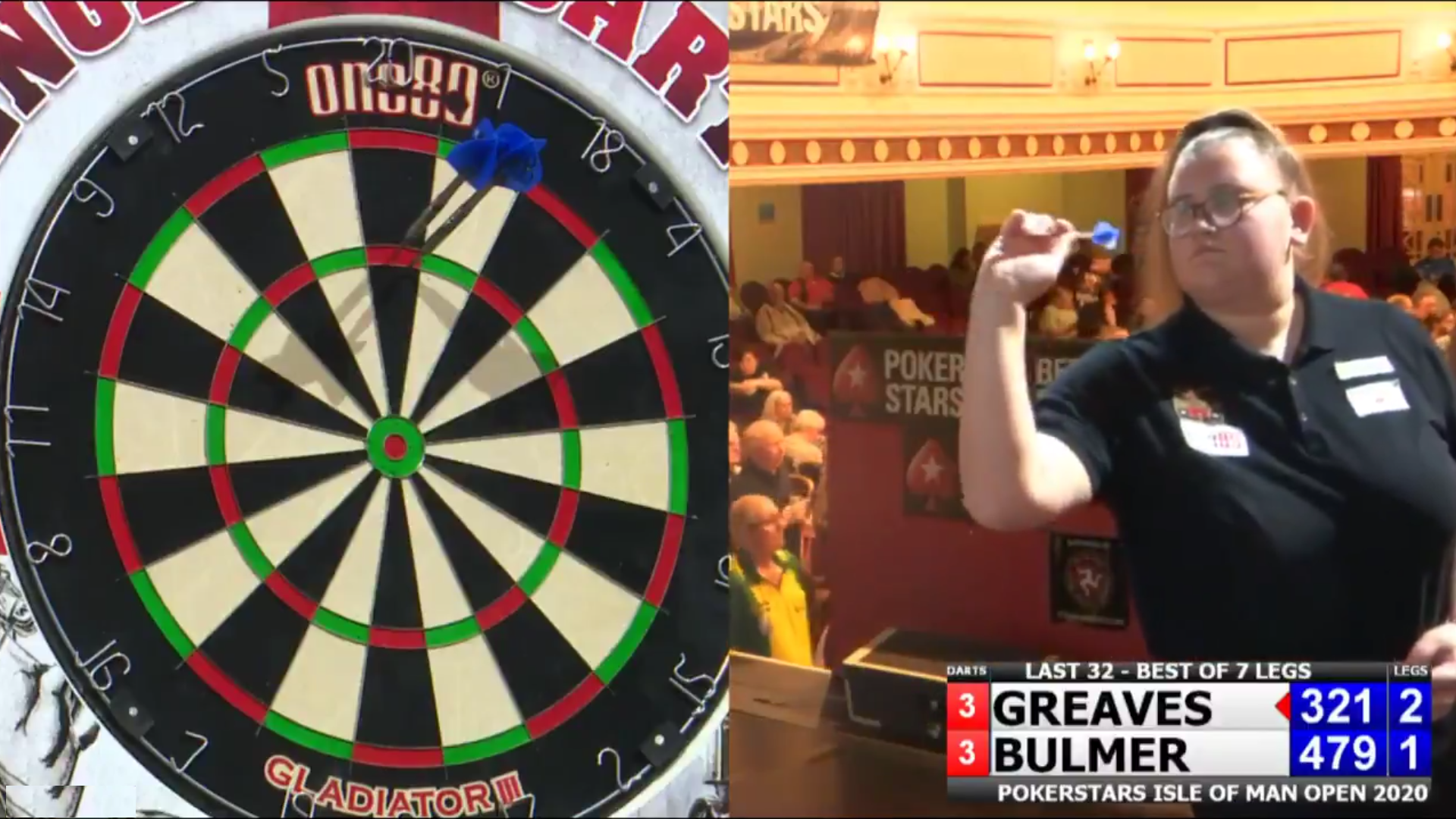 VIDEO: Beau Greaves Hits 11-Darter During Today's Isle of Man Open