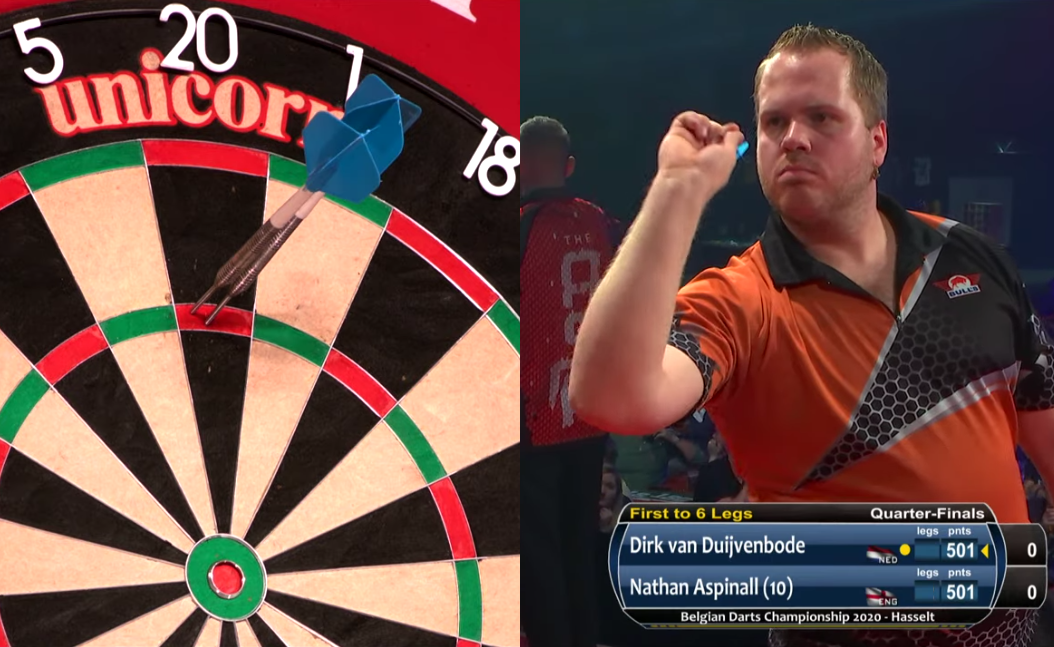 Watch Dirk van Duijvenbode's Incredible Match Against Nathan Aspinall