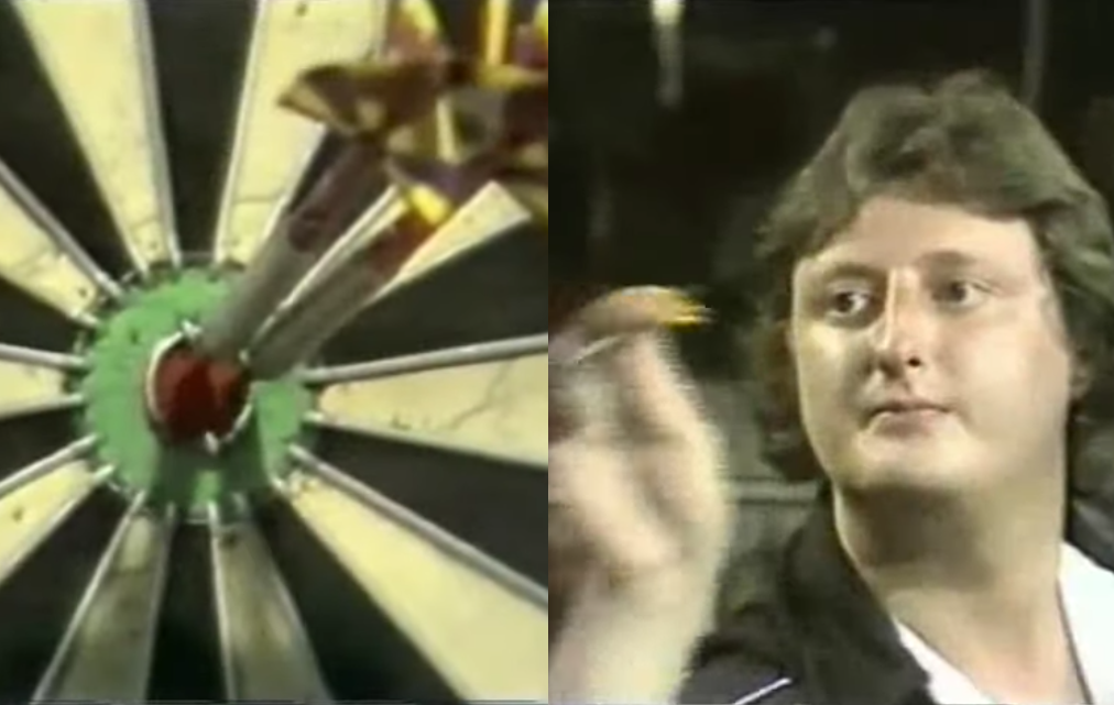 Eric Bristow and John Lowe Complete Three Bull Challenge Each