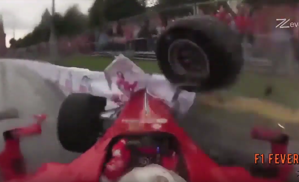 Watch 6 Times A Formula 1 Car Crashed During A Festival