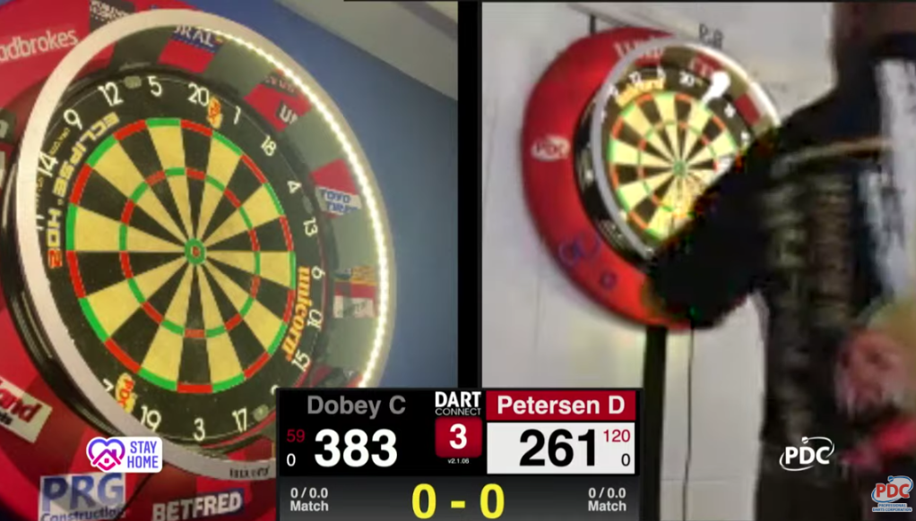 Livestream: First Tournament of 'PDC Darts At Home'