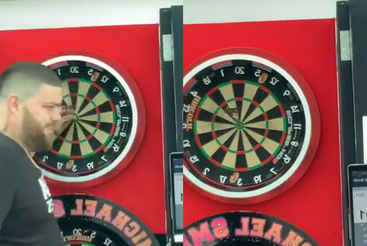 VIDEO: Michael Smith Completes Back To Back Three Bulls Challenge