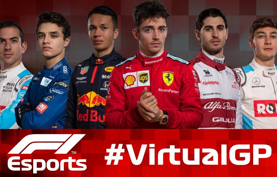 Livestream: Virtual Grand Prix With 6 Current F1 Drivers