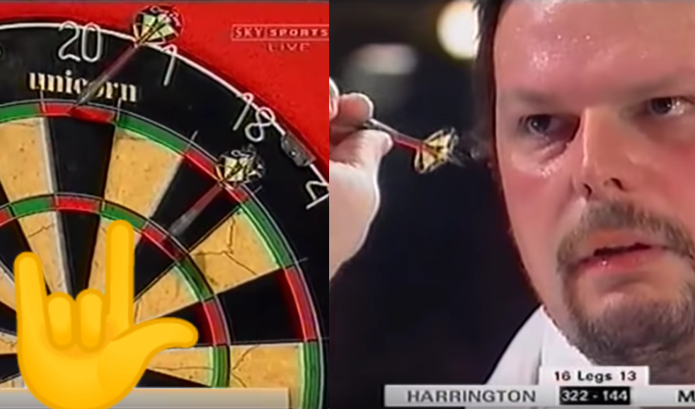 Most Crazy 9-Darter Attempt By Peter Manley Over 20 Years Ago