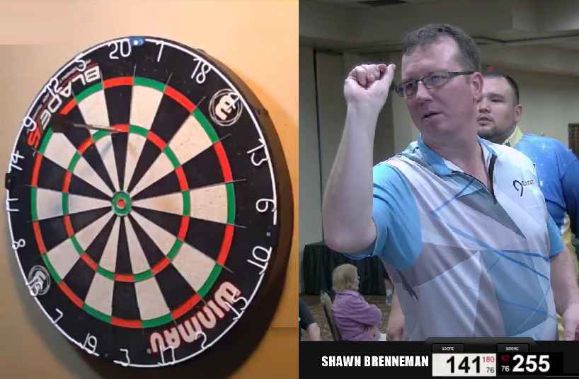 Watch This Guy Hit A 9-Darter During Online Battle In Canada