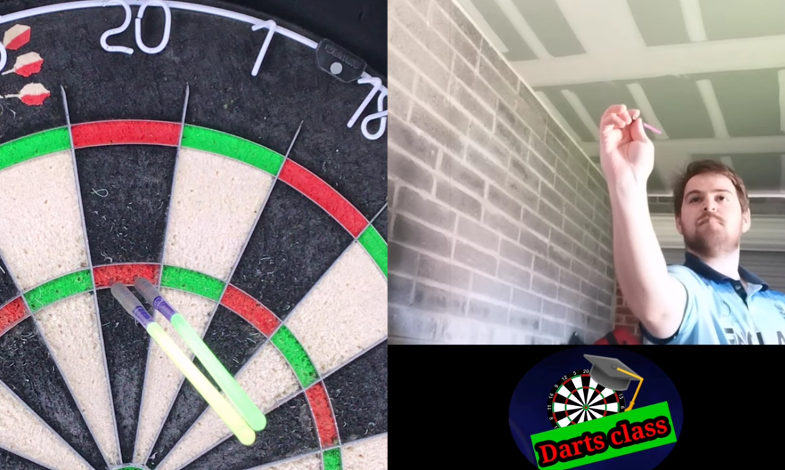 This Guy Hits A 180 With Straws On His Darts, Or Does He?! 🤔