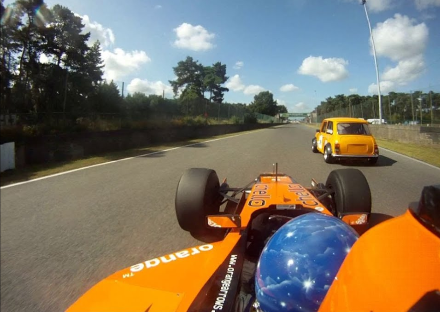 This Guy Brings His Formula 1 Car To Track Day at Zolder Circuit