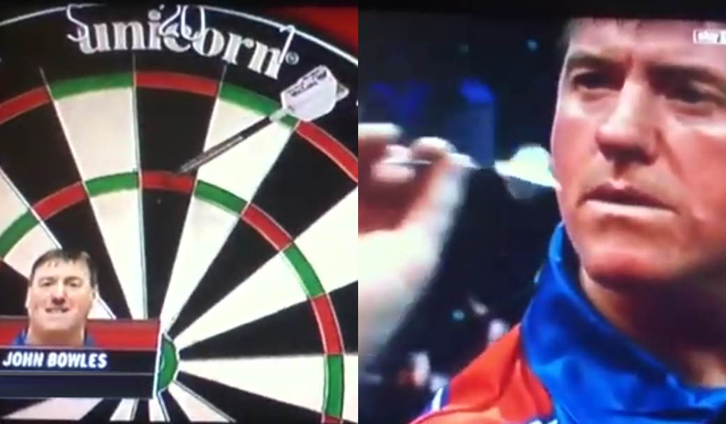 John Bowles' Most Unique Throw Only Seen Once In Darts History