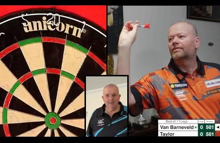 Watch Raymond van Barneveld vs Phil Taylor Battle