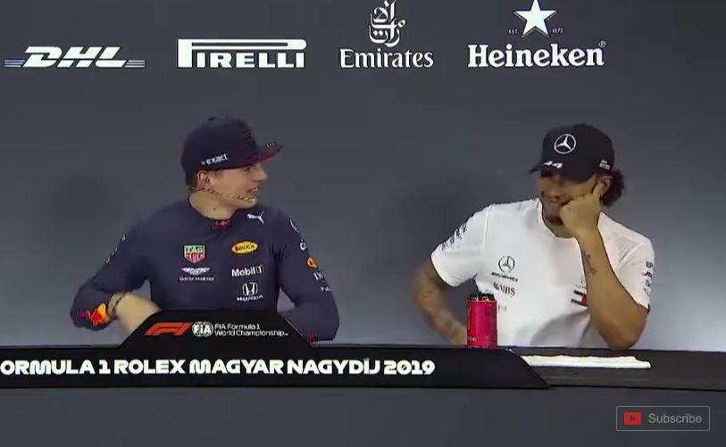Verstappen, Hamilton and Bottas Reaction on 1,000 HP Renault