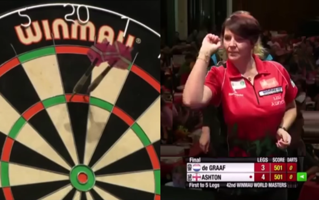 Incredible 9 Perfect Darts By Lisa Ashton