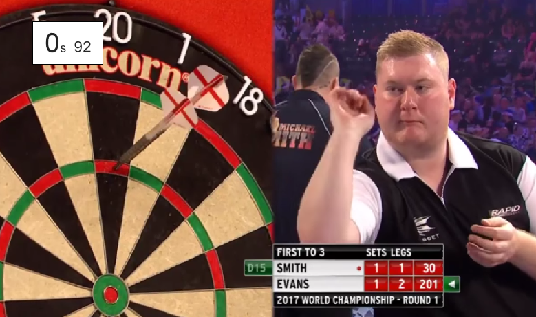 Ricky Evans Hits World Record With Fastest 180 Ever Recorded