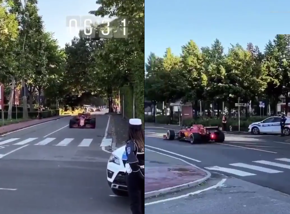 VIDEO: Charles Leclerc Hits Street In Italy With F1 2020 Ferrari