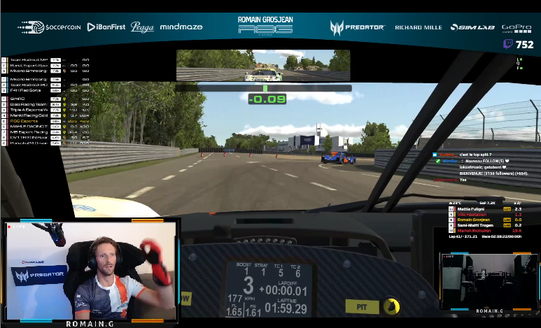 Romain Grosjean Again Crashed TWICE During 24 Hours du Mans