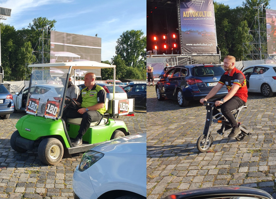 VIDEO: Special Walk On's During Hannover Drive-In Darts Gala