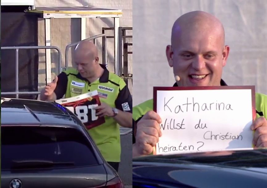 VIDEO: Michael van Gerwen Had A Special Message In Hannover