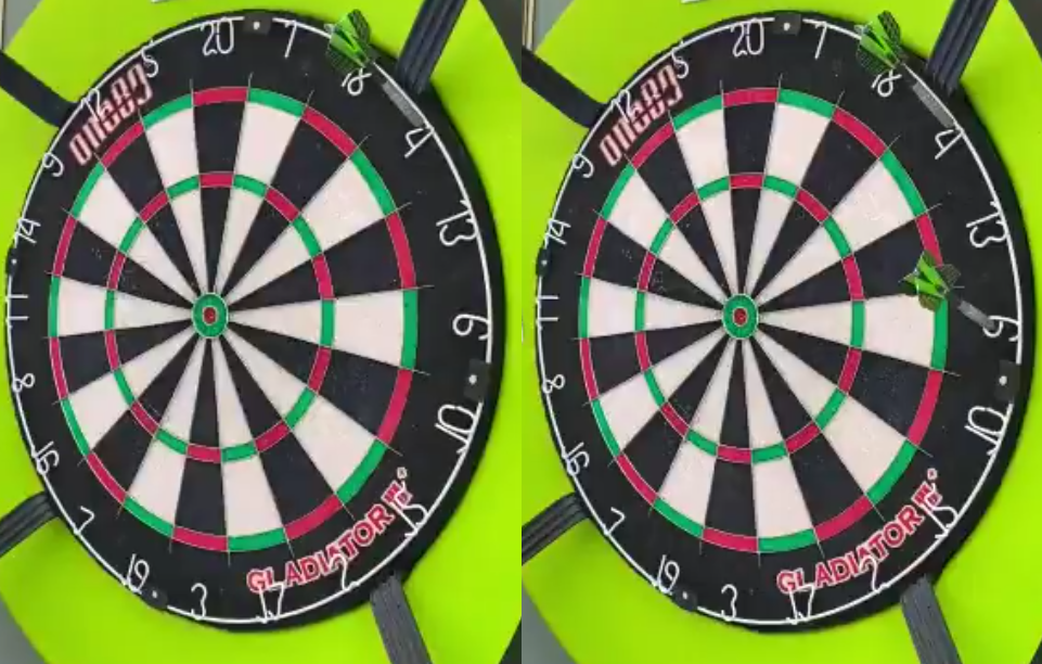 You Are A Pro Player If You Complete The 'DartsistDarts Challenge'