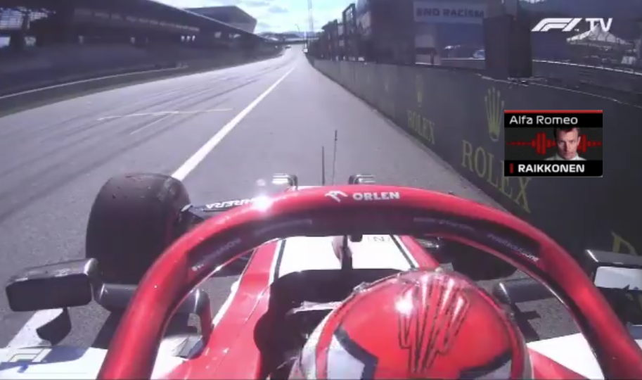 Kimi Raikkonen's Priceless Team Radio 20 Seconds After Incident