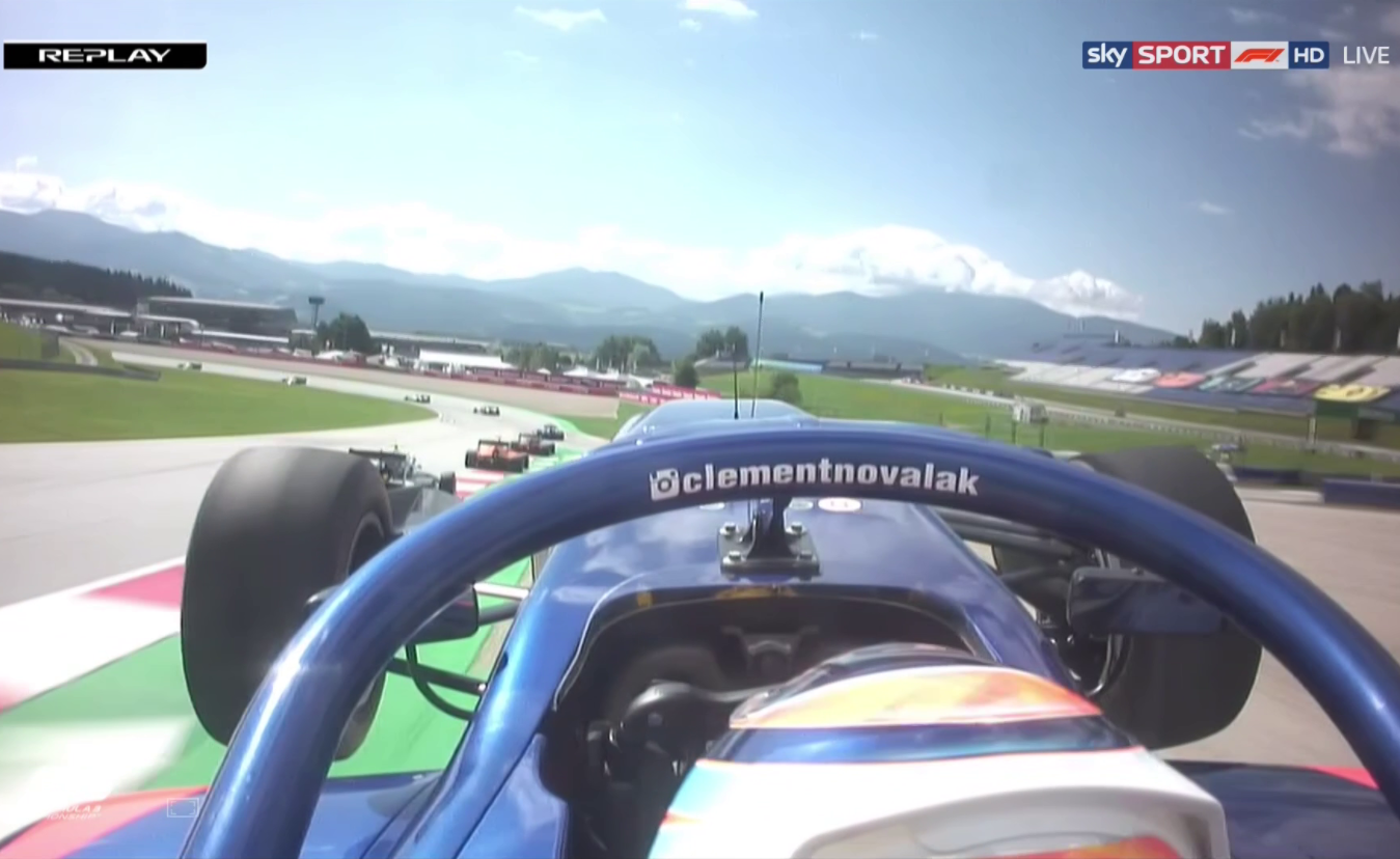 Clement Novalak Just Popped This Epic Wheelie In Formula 3