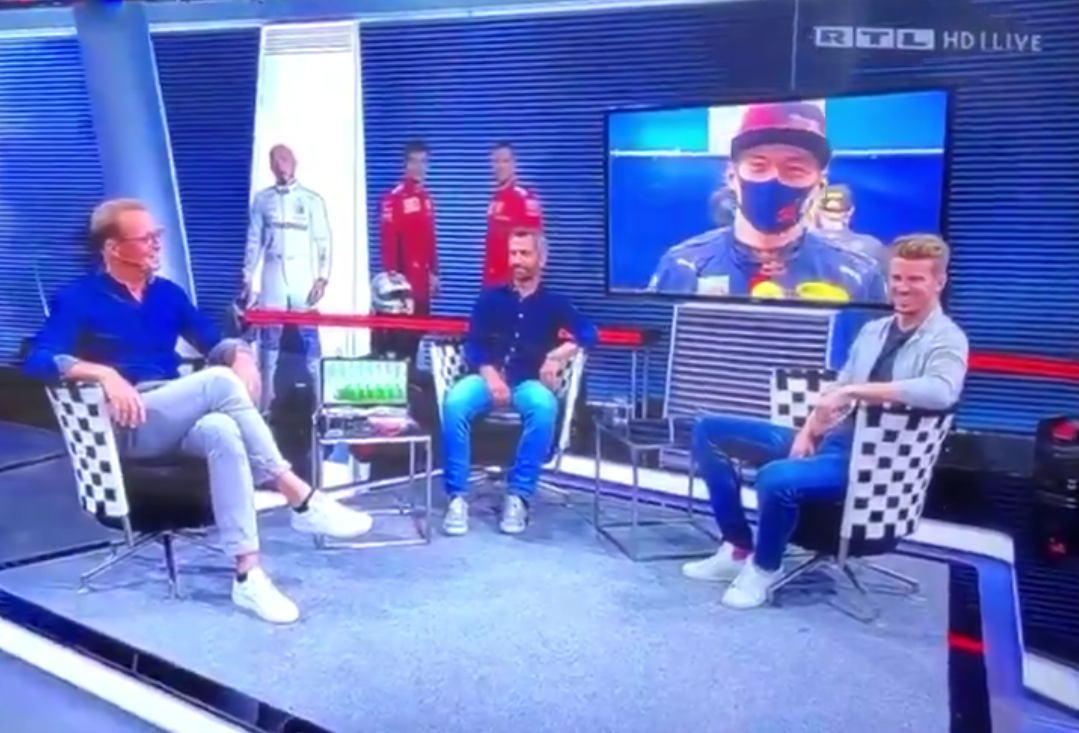 """Max Verstappen To Nico Hulkenberg """"Hey Wanker, How Are You?"""""""