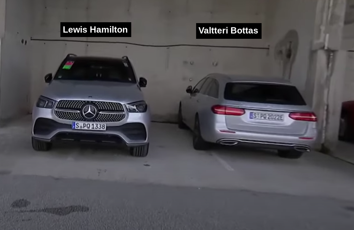 Watch The Cars Formula 1 Drivers Drove To The Track In Hungary