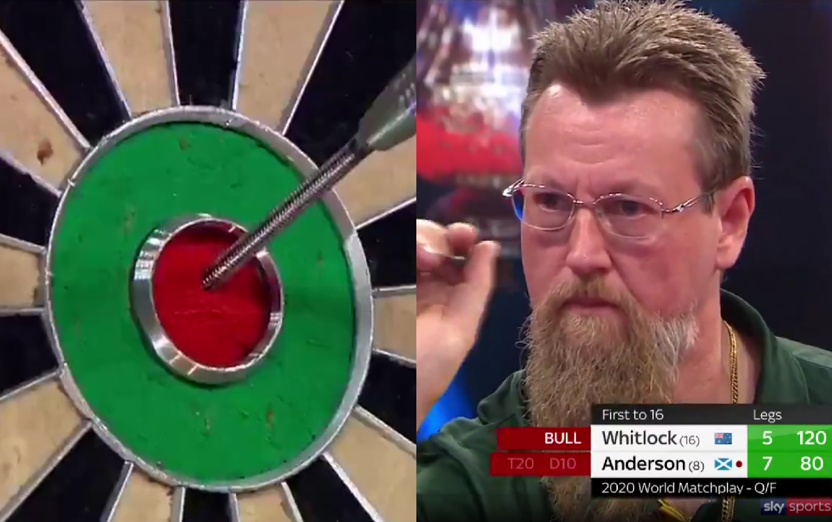 VIDEO: Simon Whitlock Hits Crazy 120 Bull Bull Checkout