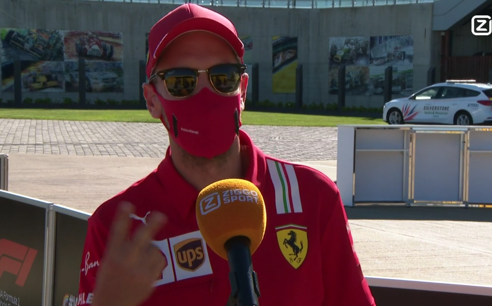 "Sebastian Vettel Shows He Can Speak Dutch: ""F#cking In The Kitchen"""