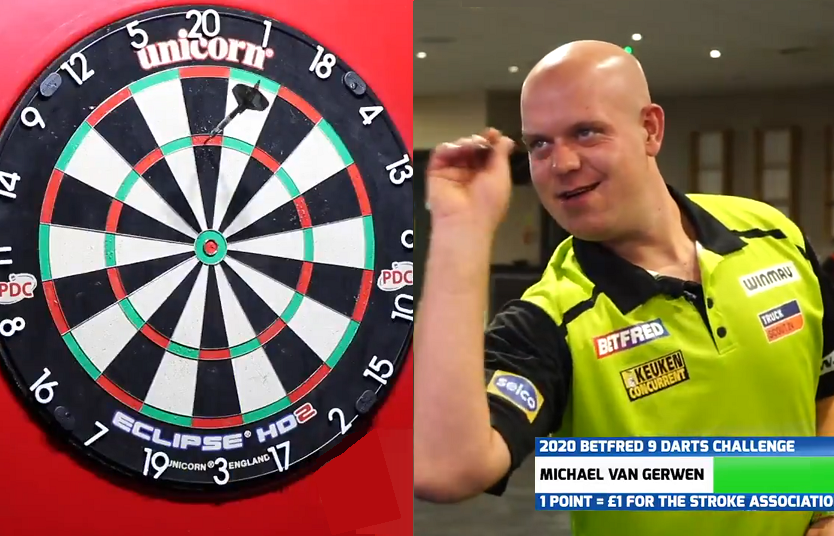 VIDEO: Michael van Gerwen Set NEW Record In 9 Darts Challenge