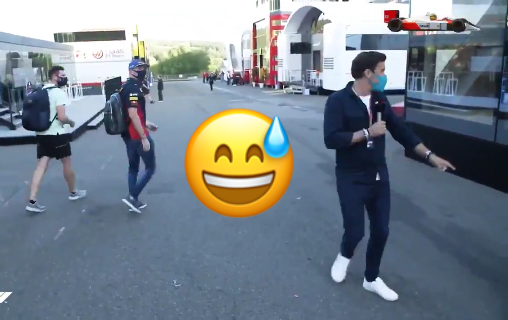 VIDEO: Max Verstappen Had A Special Message For Sky Reporters