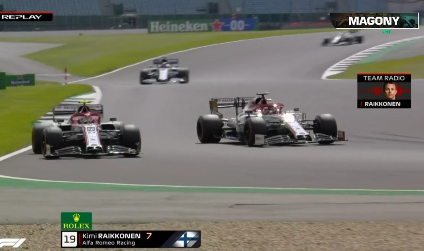 Kimi Räikkönen Furious Team Radio On His Teammate During FP3
