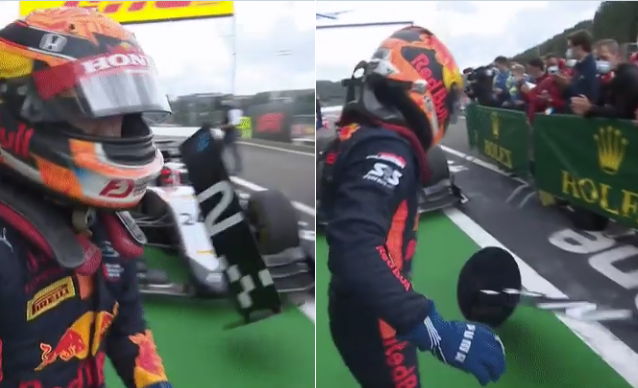VIDEO: Nikita Mazepin Wasn't Happy Losing P1 After Penalty