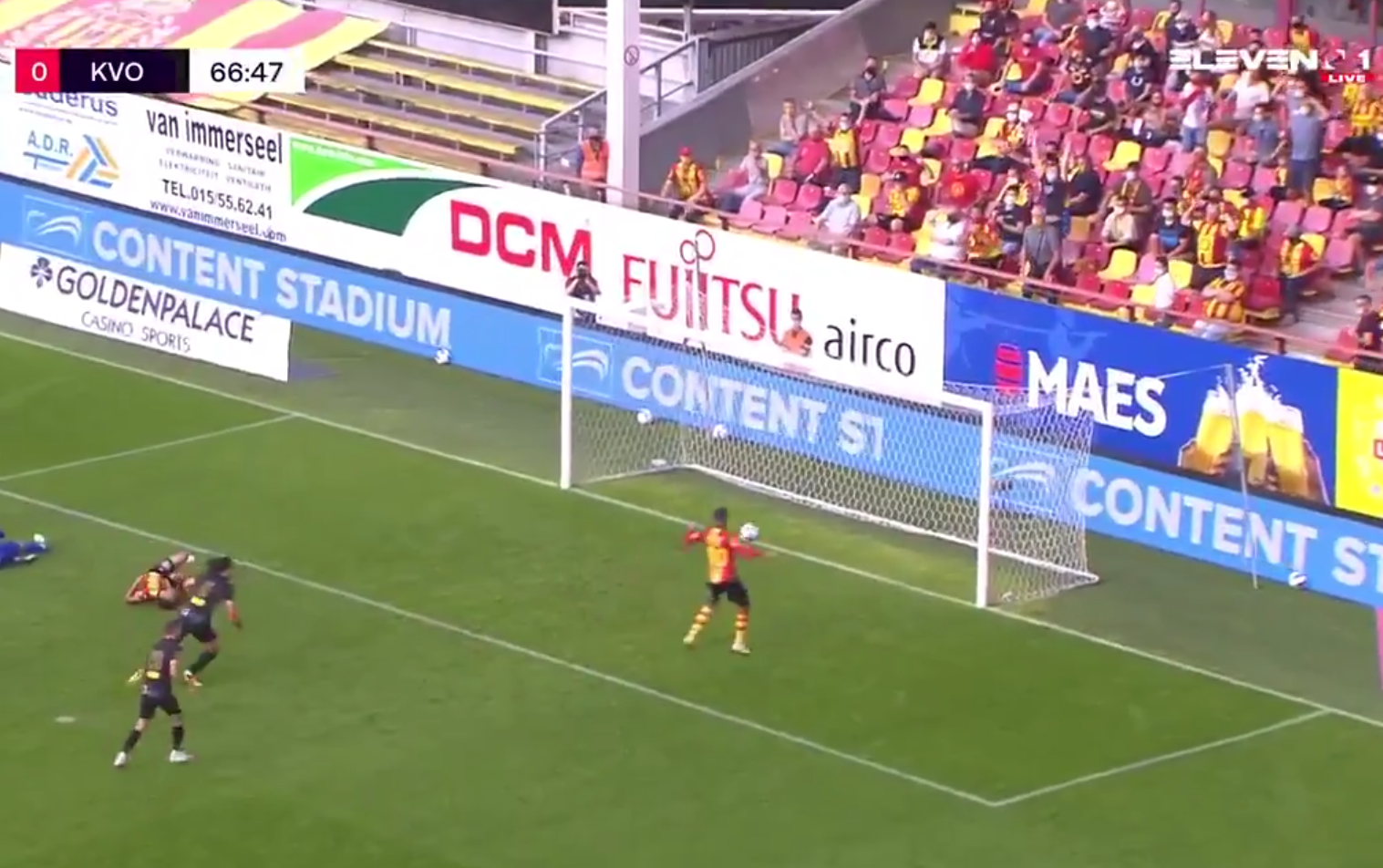 VIDEO: Worst Miss You Will Ever See Without A Goalkeeper