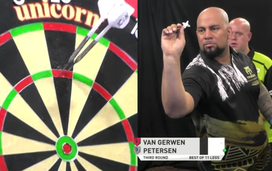 Watch Remarkable Game Between Michael van Gerwen vs Devon Petersen