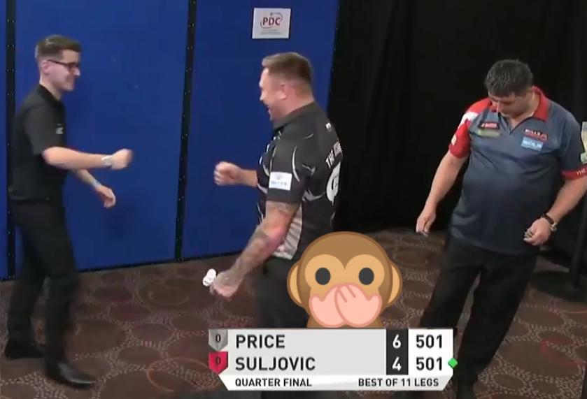 VIDEO: Mensur Suljovic Had No Idea Gerwyn Price Won The Game