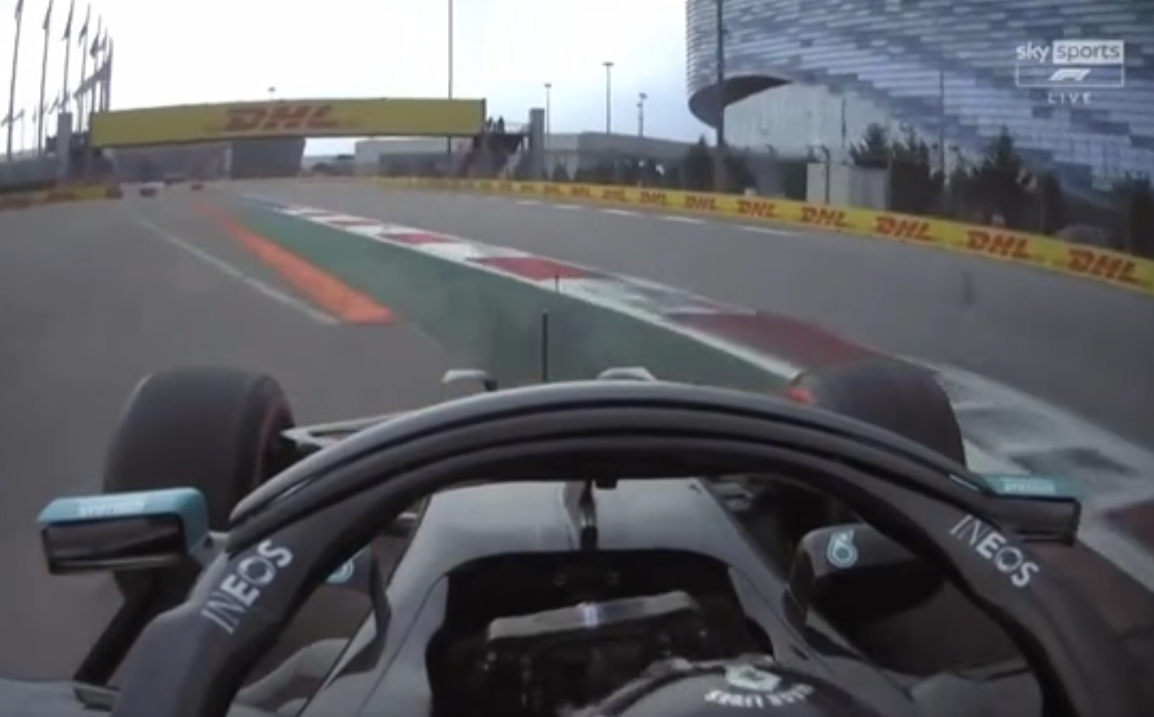 VIDEO: Lewis Hamilton Might Get Penalized For This Moment