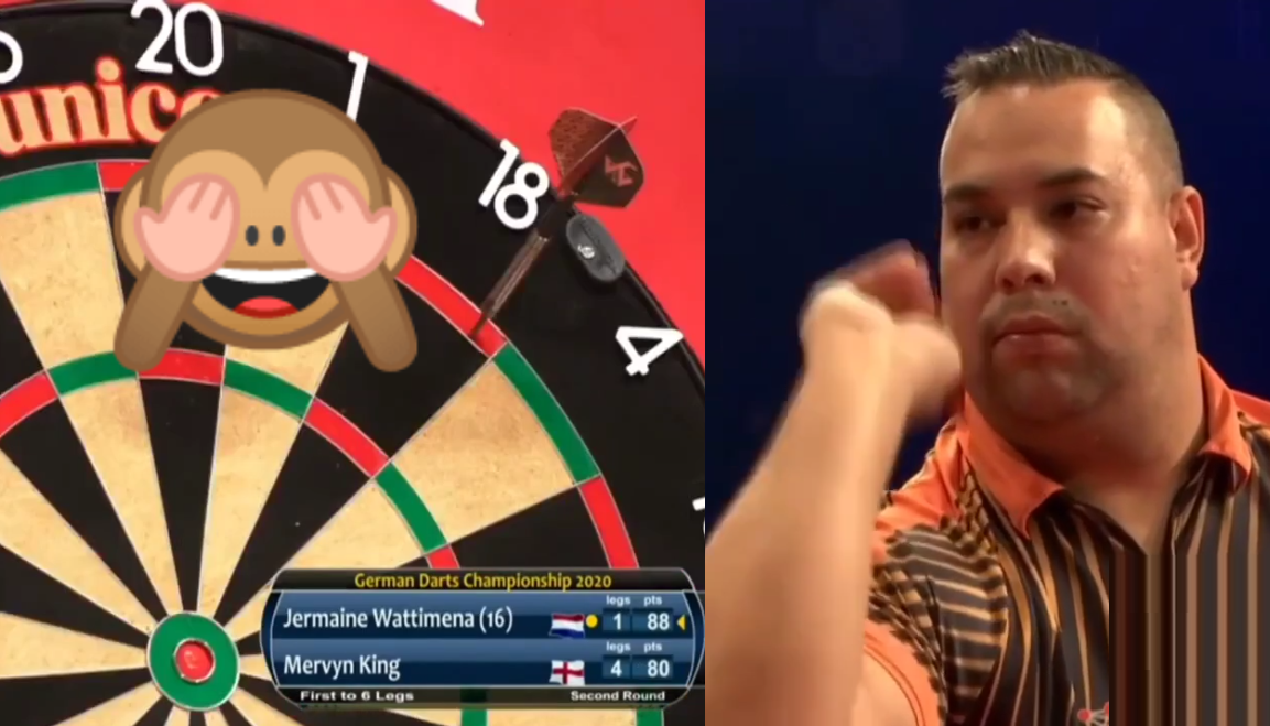 VIDEO: Jermaine Wattimena Hits Never Before Seen Crazy 88 Checkout