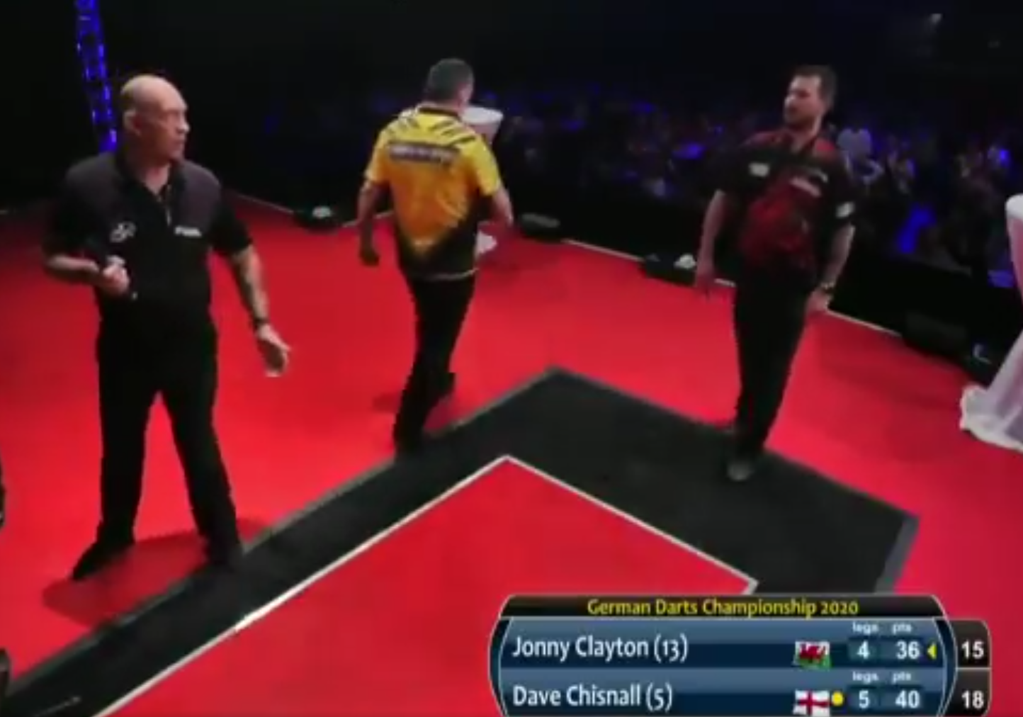 VIDEO: Russ Bray's Horrible Miscount At German Darts Championship