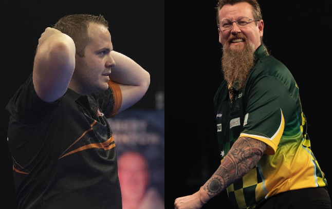 Dirk van Duijvenbode And Simon Whitlock Had An Incident In Their Hotel