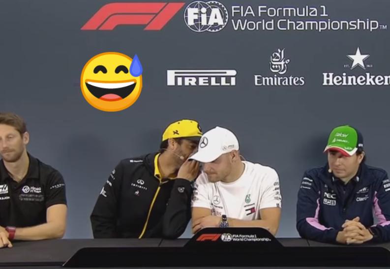 Daniel Ricciardo's Hilarious Tip For Bottas To Beat Lewis Hamilton