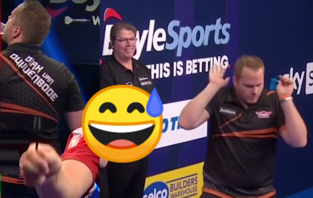 VIDEO: Van Duijvenbode's Awkward Moments In Match Against Suljovic
