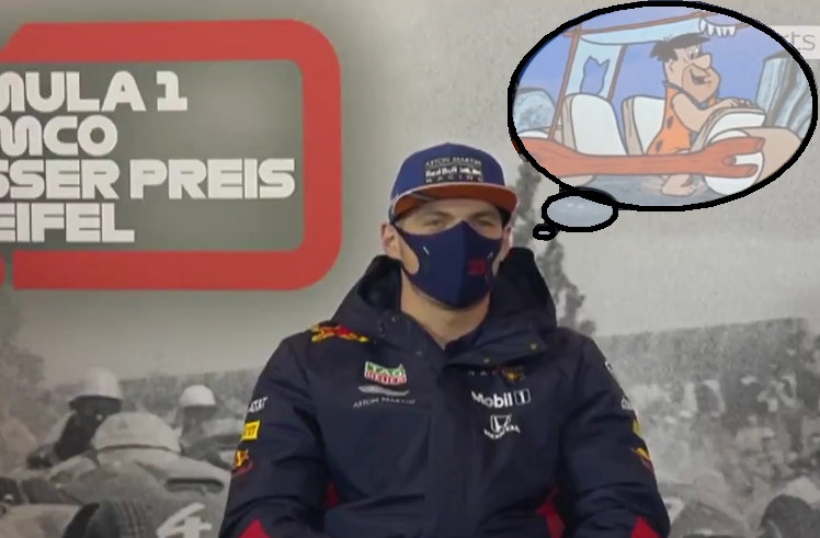 VIDEO : Max Verstappen's Funny Moment About Red Bull Car After 2021