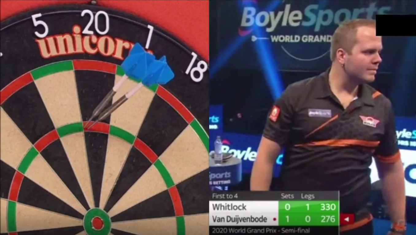 VIDEO: Van Duijvenbode Takes Revenge With Slowest 180 Ever