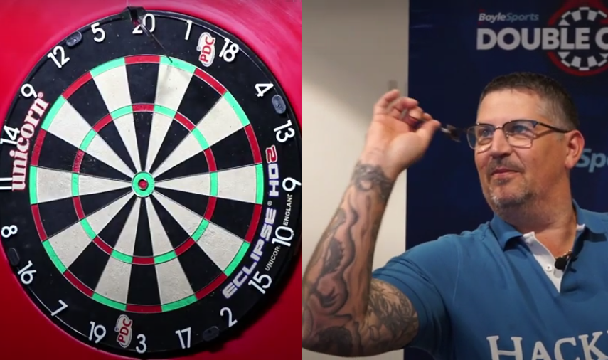 VIDEO: Gary Anderson Having A Shot At Ian White's Double Chase Record