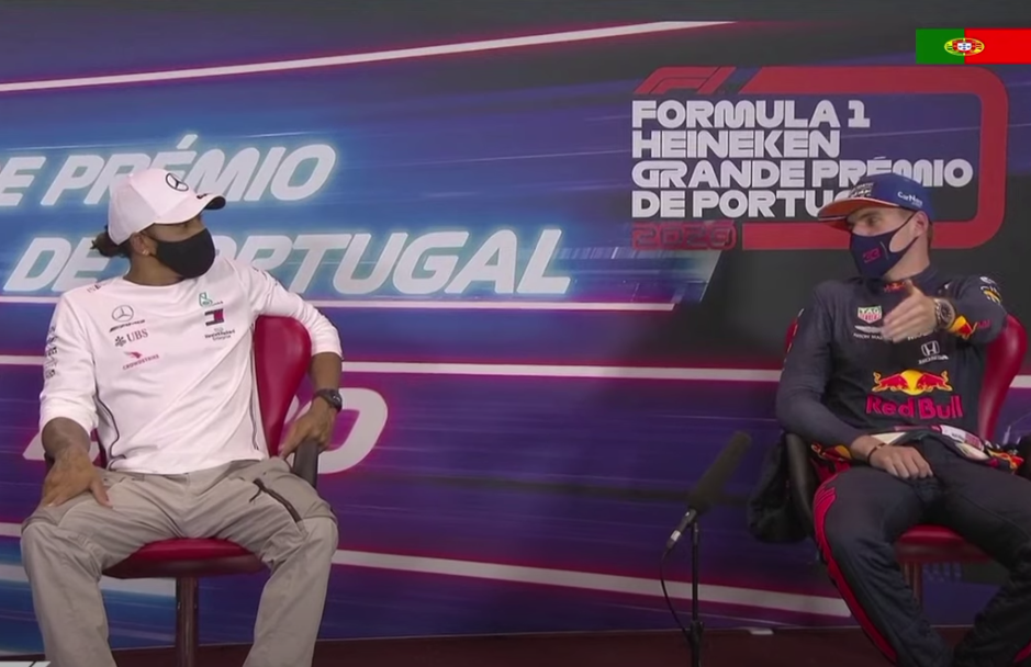 VIDEO: Max Verstappen Just Asked Lewis Hamilton To Once Swop Cars