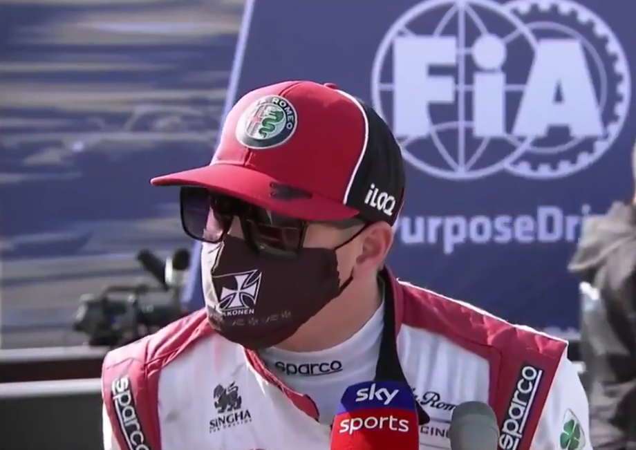 VIDEO: Funny Interview With Kimi Raikkonen After Qualifying Portugal